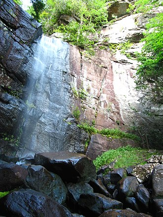 Bad Branch Falls State Nature Preserve - Image: Bad Branch Falls in Kentucky