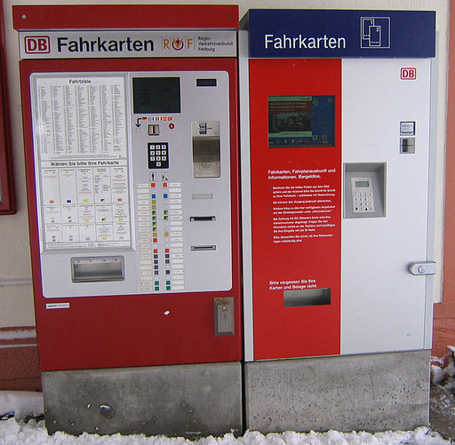 Bahnautomat