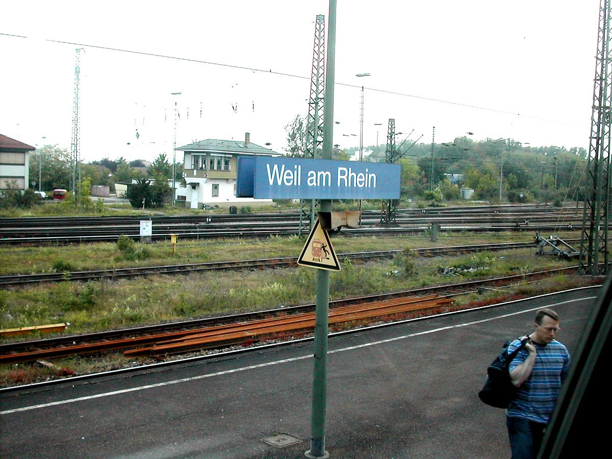 weil am rhein station wikipedia. Black Bedroom Furniture Sets. Home Design Ideas