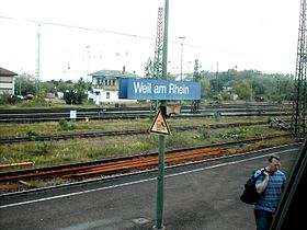 Image illustrative de l'article Gare de Weil am Rhein