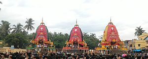 Ratha-Yatra - Rathayatra in Odisha