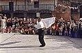 Baile de la bandera en Mieza de la Ribera, 1984.jpg
