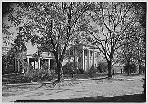 United States Naval Training Center, Bainbridge - Captain Russel's House in 1943