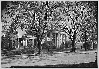 United States Naval Training Center, Bainbridge - Captain Russel's House in 1943
