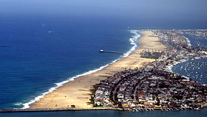 Balboa Peninsula, Newport Beach - The Balboa Peninsula.