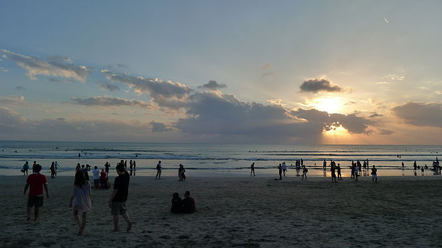 Evenings at Kuta Beach