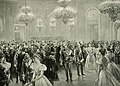 Ball at Buda Castle in honour of Kaiser Wilhelm II, Budapest 1898.jpg