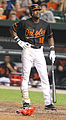 Baltimore Orioles left fielder Felix Pie (18).jpg