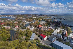 Aerial view of Baltiysk