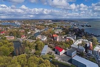 Baltiysk - Aerial view of Baltiysk