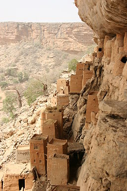 Bandiagara escarpment 1