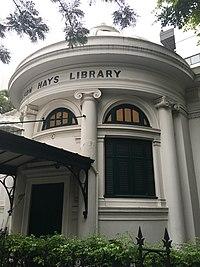 Bangkok - Si Phraya - surawong street IMG 7400 neilson hays library.jpg
