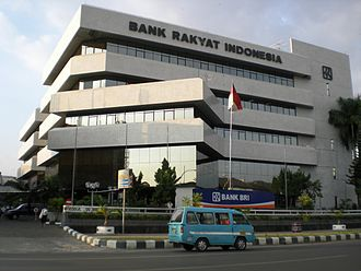 Makassar - Bank Rakyat Indonesia's Makassar Branch Office, one of the largest banks operated in the city.