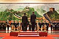 Barack Obama and Hu Jintao participate in an official arrival ceremony the Great Hall of the People.jpg