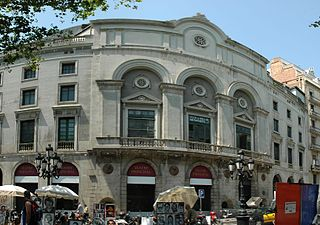 theatre and former cinema in Barcelona, Spain