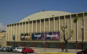 Volleyball at the 1992 Summer Olympics – Men's tournament - Image: Barcelona Teatre Musical (Catalonia)