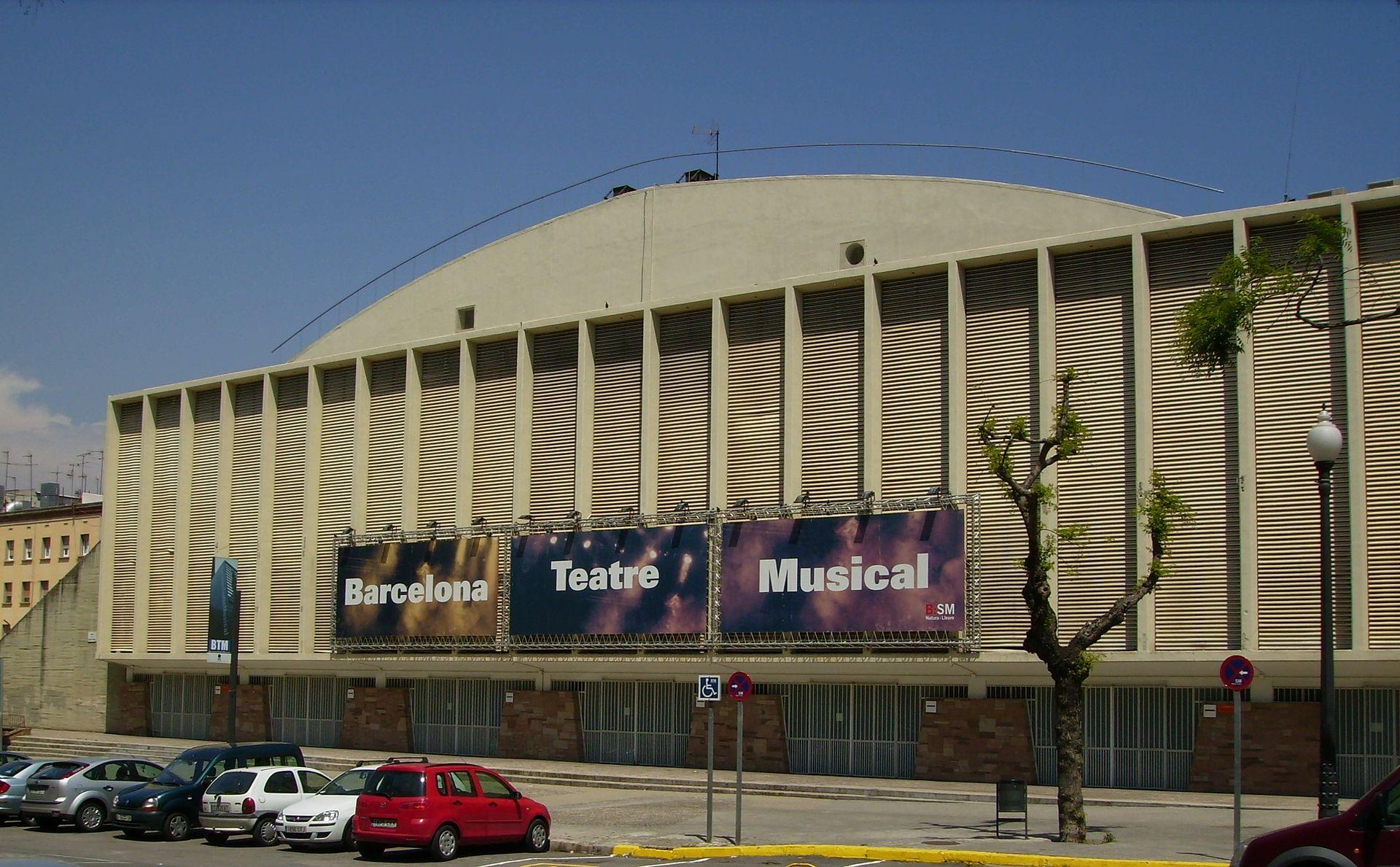 palacio de los deportes de barcelona