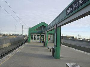 Barlow/Max Bell station - Image: Barlow Max Bell (C Train) 2