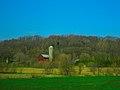 Barn and a Silo near Rock Springs - panoramio.jpg