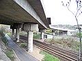 Barrandovský most, přemostění trati 171.jpg