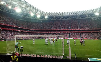 San Mamés Stadium (2013) - Athletic in action, 2015