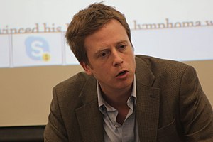 Barrett Brown - Barrett Brown in Denton, Texas, 2017