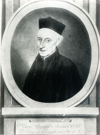 """Daniello Bartoli - Daniello Bartoli """"Obiit Romae, die 13 Januarii, anno 1685, aet. 77"""""""