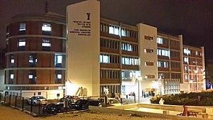 Barzilai Medical Center - Barzilai Medical Center at night