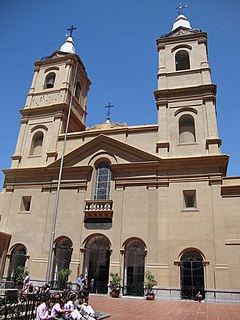 Santo Domingo convent Church in Argentina