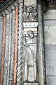 Basilica di Sant'Antonino (Piacenza), portale di marmo (1172) 06.jpg