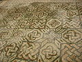 Basilica di aquilieia, mosaici, navata, tappeto geometrico 01.JPG