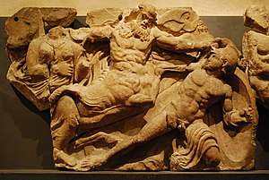 Bassae - The Bassae Frieze has its own room at the British Museum.