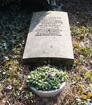 Albert Bassermann - His grave in Mannheim