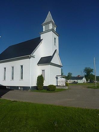 Bath, New Brunswick - Bath Baptist Church