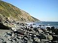 Battern Cliffs from Downderry beach - geograph.org.uk - 1103815.jpg