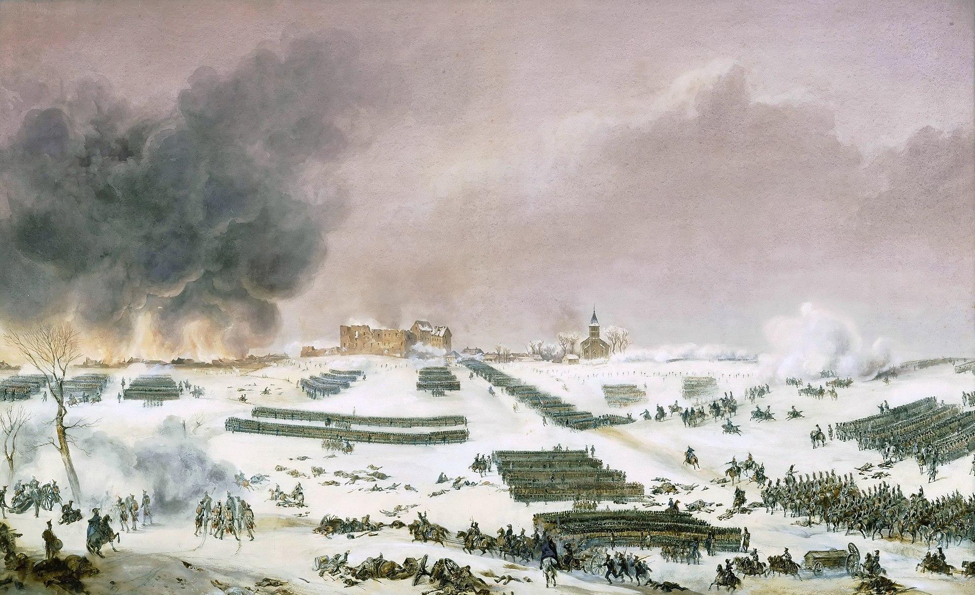 Битва при Эйлау 1807 - нападение на кладбище, Жан-Антуан-Симеон.jpg