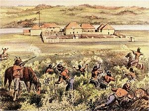 Battle of Fort Pitt - Image: Battle of Fort Pitt