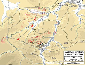 Battle of Jena–Auerstedt - Battles of Jena and Auerstedt