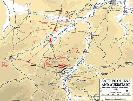 Battle of Jena-Auerstedt - Map01