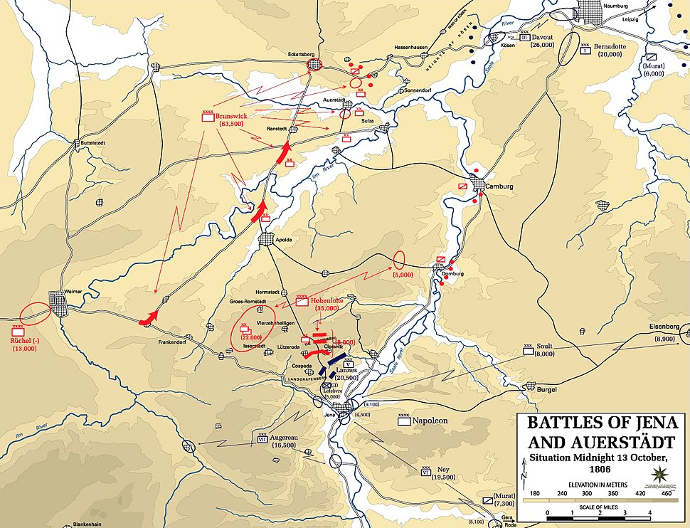 Battle of Jena-Auerstedt - Map01