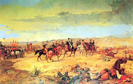 The Battle of Ayacucho was decisive in ensuring Peruvian independence. BattleofAyacucho.jpg