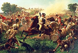 Emanuel Leutze: Washington Rallying the Troops at Monmouth