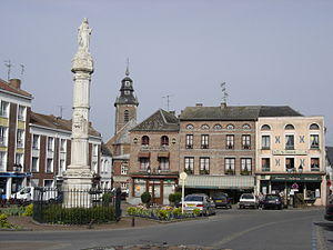 Bavay - The Place de Charles de Gaulle