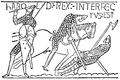 Bayeuxtapeten, Haralds död, Nordisk familjebok.png