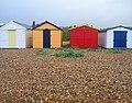 Beach Huts, Bulverhythe - geograph.org.uk - 526264.jpg