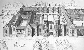 Palace of Beaulieu - Beaulieu Palace circa 1580