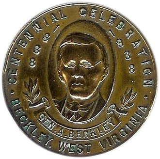 Beckley, West Virginia - Beckley Centennial Medal