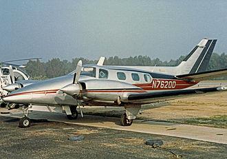 Beechcraft Duke - Beech A60 Duke in 1986