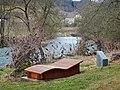 Beim 366 km langen Neckartalradweg, Am Neckar bei Oberndorf - panoramio.jpg