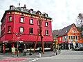 Beim 366 km langen Neckartalradweg, Belle Arti (Ristorante Eiscafe Bar), Horb am Neckar - panoramio.jpg